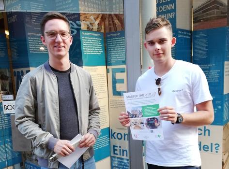 Jens Niehaus und Leon Wilmers